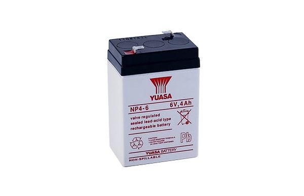 YUASA 湯淺 NP4-6 6V,4AH 手電筒 兒童電動車 緊急照明燈 電子秤蓄電池