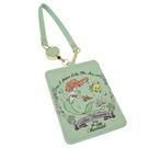 迪士尼 票卡包 皮革 伸縮拉線 小美人魚 Disney 日本正版 該該貝比日本精品 ☆