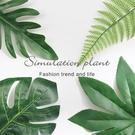 北歐風擺件 高品質 仿真葉子 植物 一片綠葉 北歐葉 假花 仿真裝飾葉 拍攝道具 攝影道具【RS844】