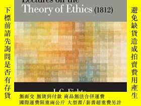 二手書博民逛書店Lectures罕見On The Theory Of Ethic
