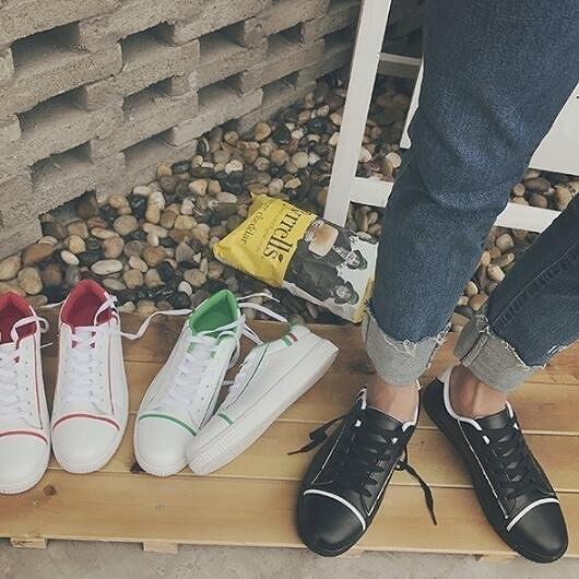 FINDSENSE MD 日系 流行時尚 潮 男 洞洞透氣 小白鞋 休閒鞋 運動