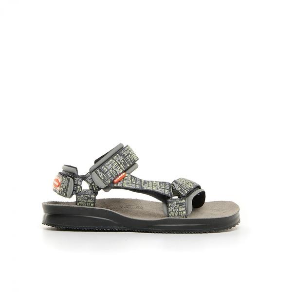 Lizard 義大利 Super Hike健行家黃金底涼鞋-真皮墊PU LI11078 MY地圖黃 Vibram 涼鞋 拖鞋【易遨遊】