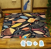 兒童地毯長方形爬行墊臥室滿鋪榻榻米床邊毯房間地毯【奇趣小屋】