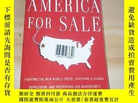 二手書博民逛書店AMERICA罕見FOR SALEY249169 AMERICA FOR SALE AMERICA FOR S