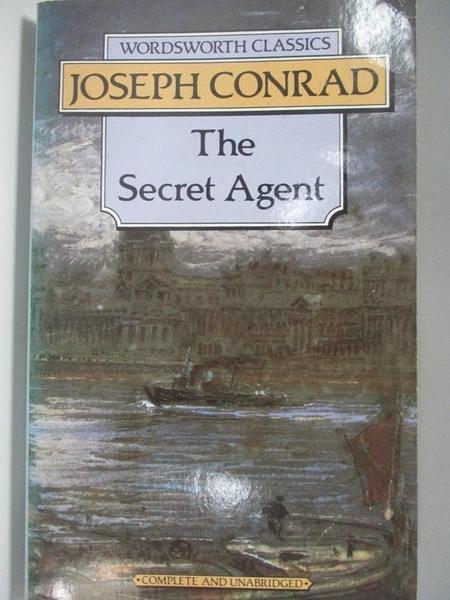 【書寶二手書T1/原文小說_AEF】Secret Agent_Joseph Conrad