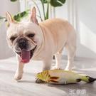 咸魚鯽魚狗狗玩具仿真魚枕頭毛絨仿真魚耐咬磨牙中小型犬寵物用品 3C優購