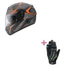 【東門城】ASTONE GTR N55 (平碳纖橘) 全罩式安全帽+KEEPER手套 原價6650