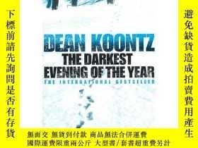 二手書博民逛書店罕見ye-9780007226627-The Darkest Evening of the Year最黑之夜Y