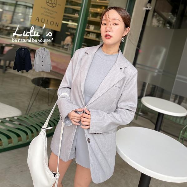 特價【A03200107】F自訂款質感墊肩西裝外套2色