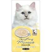 【寵物王國】HuluCat誘惑的慕斯肉泥(雞肉+牛奶)15gx4入