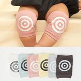 年輪寶寶加厚毛圈爬行防摔護膝 學爬護具 嬰兒護膝 嬰兒襪套