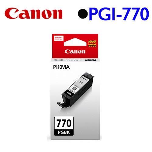 Canon PGI-770BK 原廠墨水匣 (黑)