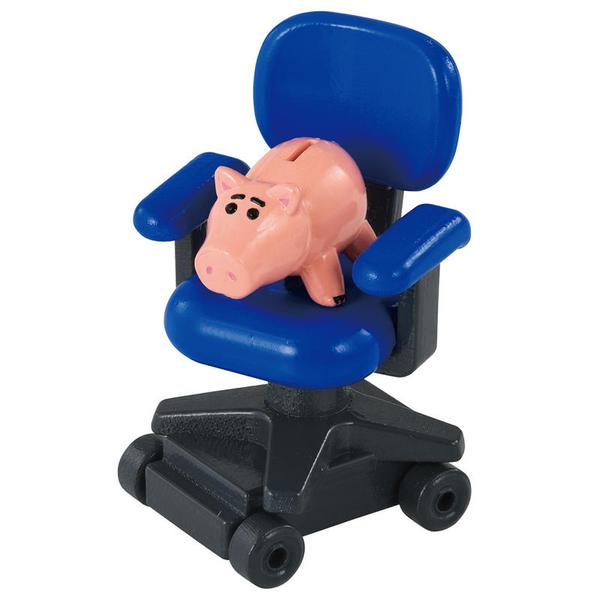 TOMICA 玩具總動員四 TS-火腿豬&安迪椅子 DS87501 TAKARA TOMY