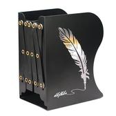 可伸縮書立架折疊書夾書靠書立簡易桌上學生用收納課桌神器桌面書架創意高中生夾書器