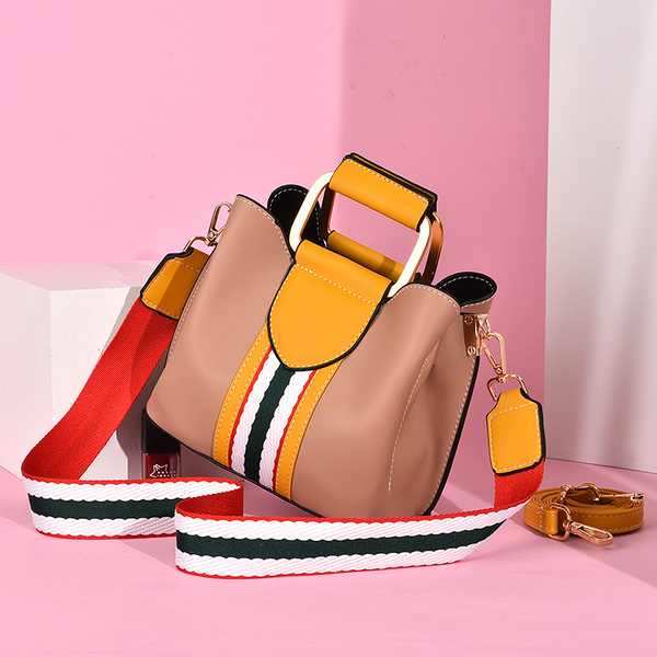 日韓手提包個性大包包 韓版氣質女生單肩包 女士時尚容量士斜挎包 潮流女包包百搭簡約手提包