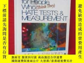 二手書博民逛書店Tests罕見& Measurement for People Who (Think They) Hate ( 1