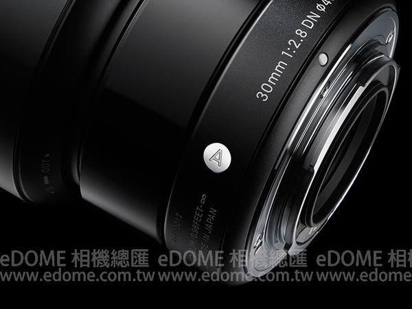 SIGMA 30mm F2.8 DN ART 黑 黑色 (24期0利率 免運 恆伸公司貨三年保固) 微單眼鏡頭 適用 SONY E-MOUNT NEX 接環