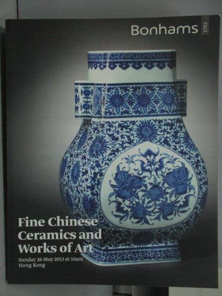 【書寶二手書T6/收藏_QIK】Bonhams_Fine Chinese Ceramics and Works of A