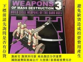 二手書博民逛書店Mini罕見weapons 3 Weapons of mass destruction Build siege w