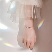 手鍊 925銀捕夢網手鍊簡約個性清新設計小眾設計宇宙星球手環韓版女 小天後