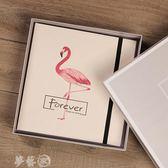 相冊  皮面手工diy相冊粘貼式影集相薄 創意浪漫情侶戀愛紀念本生日禮物 99狂歡購 夢藝家