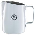 金時代書香咖啡 TIAMO 斜口拉花杯 450cc - 圓口設計 白 HC7106W