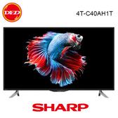 SHARP 夏普 日本製 40吋 C40AH1T 4K X4 Mater 影像處理晶片 DOLBY AUDIO 智慧液晶電視 公司貨 4T-C40AH1T