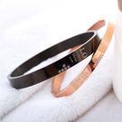 【5折超值價】時尚精美雙結合鑲鑽十字架造型情侶款鈦鋼手環