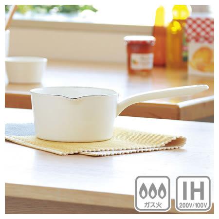 IH 琺瑯鍋 lemane 15cm WH 電磁爐瓦斯爐均適用 NITORI宜得利家居