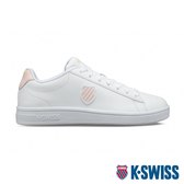 K-SWISS Court Shield時尚運動鞋-女-白/粉紅
