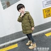 兒童棉服系列 兒童羽絨棉服男女童中長款加厚棉衣小童棉襖1-8歲寶寶冬裝反季 快意購物網