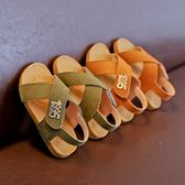 兒童沙灘鞋 軟底防滑男童涼鞋 3色