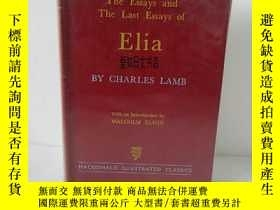 二手書博民逛書店【罕見】The essays and last essays o