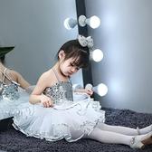 演出服 六一兒童節表演服裝女童舞蹈服蓬蓬裙演出服幼兒跳舞裙爵士芭蕾菔 歐歐