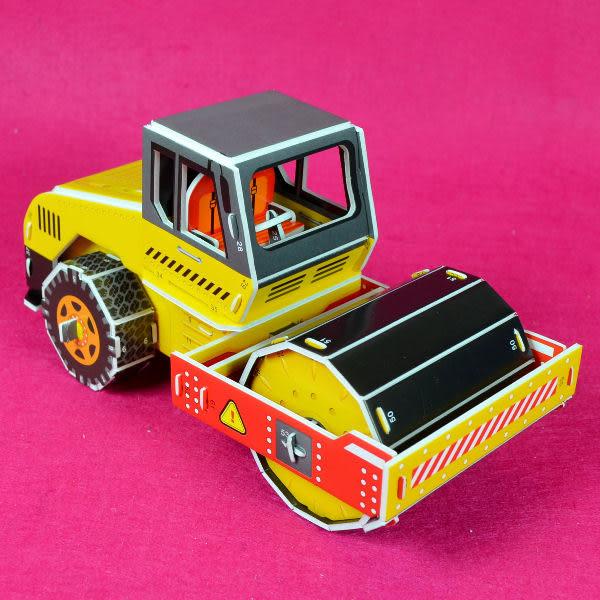 佳廷模型 親子DIY紙模型立體勞作3D立體拼圖專賣店 工程車特種車 工程車4 卡車  ZILIPOO智立堡