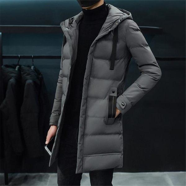 2019冬季新款棉衣男士中長款羽絨棉服韓版潮流學生冬天外套男棉襖