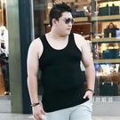 大尺碼背心男夏季加肥加大尺碼男士胖子肥佬莫代爾厚款寬鬆棉打底汗衫XL-7XL