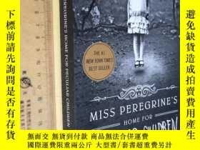 二手書博民逛書店英文原版罕見品好如圖 Miss Peregrine s Home for Peculiar Children by