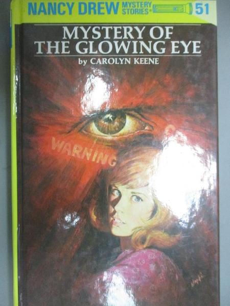 【書寶二手書T6/原文小說_GTE】Mystery of The Glowing Eye_Carolyn Keene