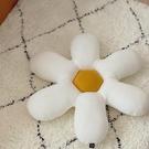 ins風可愛花瓣抱枕 空氣層棉記憶棉坐墊腳墊車載腰靠沙發靠墊靠枕 璐璐