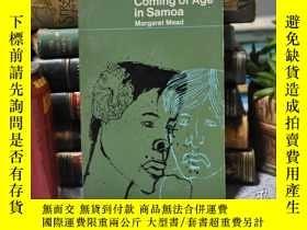 二手書博民逛書店1971年,鵜鶘版,Coming罕見of Age in Samo