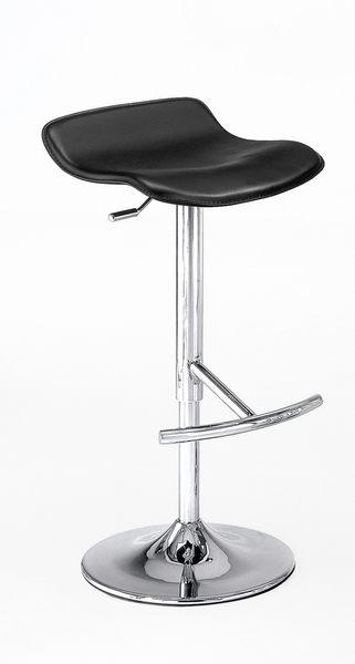 【森可家居】凱迪吧椅(黑色) 7CM529-9