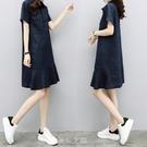 棉麻洋裝 2020夏季新款女裝氣質韓版寬...