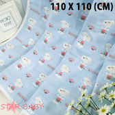 STAR BABY-日本訂單款 史努比柔軟六層紗布嬰兒浴巾 純棉 新生包巾 嬰兒抱被 空調毯 涼被