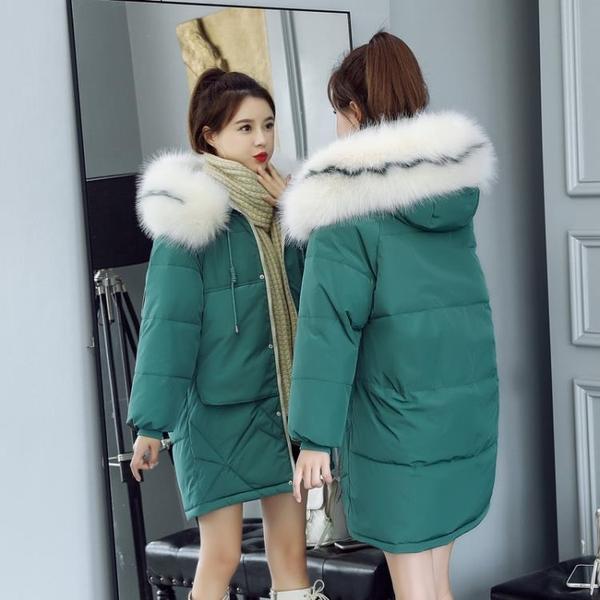 長款外套女 棉服女中長款小個子羽絨棉衣寬鬆韓版中款面包服外套學生冬季【限時八五鉅惠】