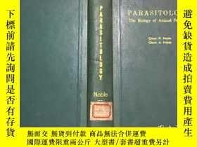 二手書博民逛書店Parasitology:罕見The Biology of An