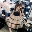 女童夏裝2020新款洋氣小仙女連身裙蓬蓬紗蛋糕裙7歲女孩公主裙潮 FX8430 【野之旅】