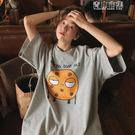 網紅港風ins短袖t恤女韓版寬鬆原宿bf怪味百搭喪繫半袖上衣服 青山市集