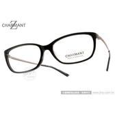 CHARMANT-Z 光學眼鏡 CH10441 BK (黑) 鈦金屬系列百搭簡約款 平光鏡框 # 金橘眼鏡