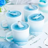 原來是泥|原創設計手工陶瓷鯨魚海豹馬克杯餐盤咖啡杯盤子創意 聖誕交換禮物